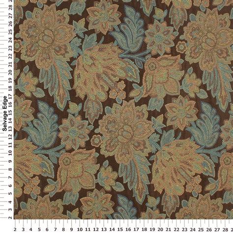 upholstery sentence tessera espresso floral upholstery fabric for upholstered