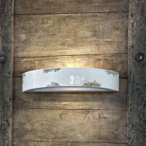 applique a parete applique vintage de design en c 233 ramique hellen ferroluce