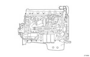 mack motor diagram mack free engine image for user manual