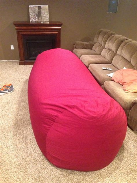 lovesac pattern bean bag sofa bed