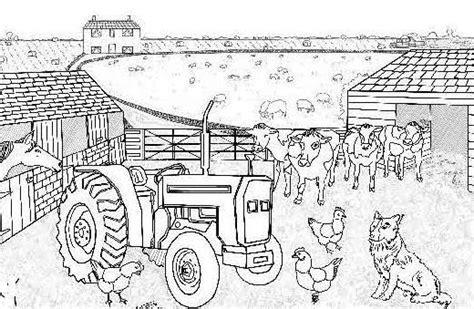 animali da cortile da colorare disegni per bambini con animali della fattoria foto 4 6