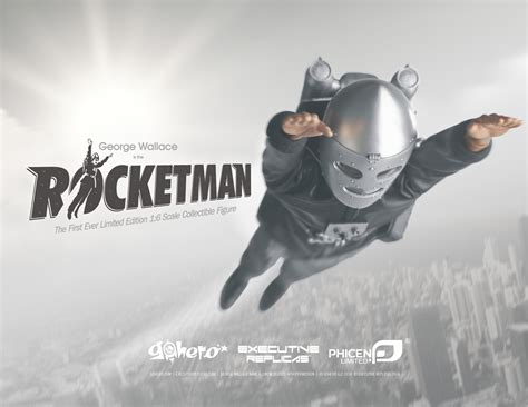 rocket man pl rocketman castle collectibles