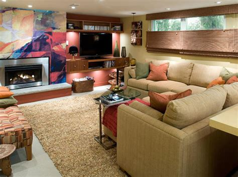 Finished Basement Decorating Ideas Before Basement Remodeling Ideas