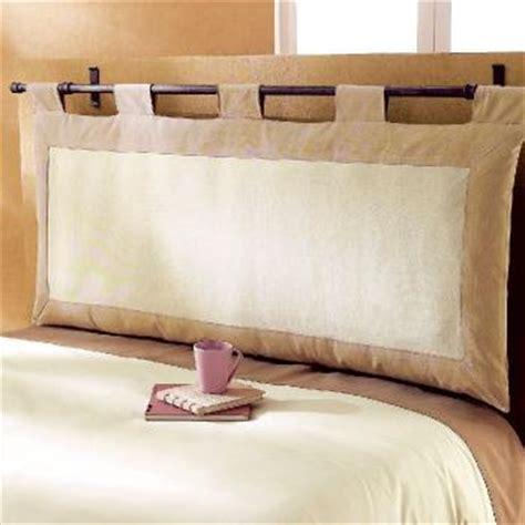 tete de lit tringle tete de lit en tissu faire soi meme