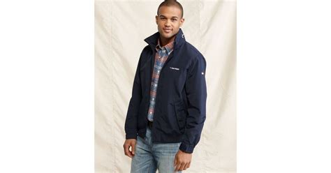 yacht jacket tommy hilfiger lyst tommy hilfiger tommy yacht jacket in blue for men