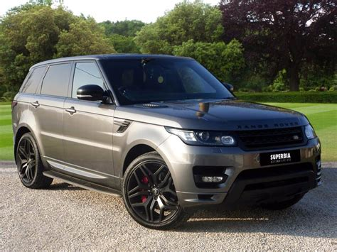 land rover gray used corris grey land rover range rover sport for sale essex