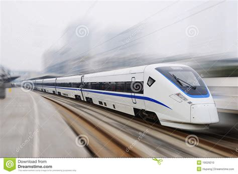 House Plans And Prices To Build New Model Chinese Fast Train Stock Photo Image 19029210