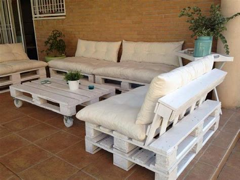 Pallet Outdoor Furniture Plans Recycled Things Patio Pallet Furniture