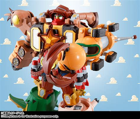 Robot Woody Story story robot transformer featured in japanese line