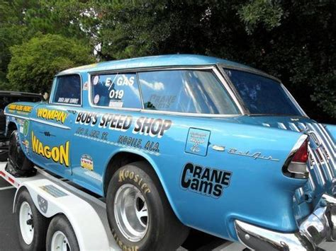 55 Nomad Drag Car 2 Door Wagons Delivery S