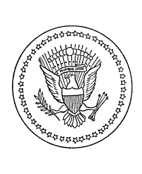united states seal coloring page great seal of the united states coloring page coloring home