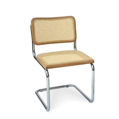 marcel breuer chaise chaise cesca b32 con 231 ue par marcel breuer arredaclick