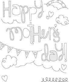 coloring pages for s day printable mothers day coloring pages coloring me
