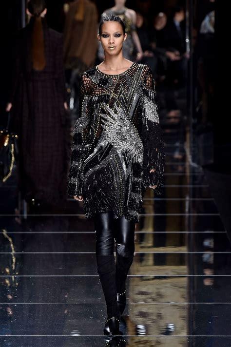 Shiny Fashion Tv Episode One The Style Council by Lais Ribeiro Walks Balmain Show At Fashion Week 3 2