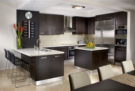 Modern Kitchen Cabinets Miami J Design Interior Designers Miami Bal Harbour Modern Kitchen Miami By J Design