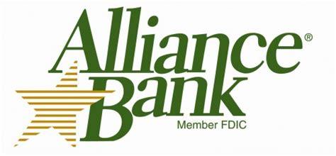 alliance bank banks logos