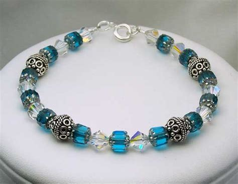 Handcrafted Beaded Bracelets - item b222 beaded jewelry bracelet by jades creations