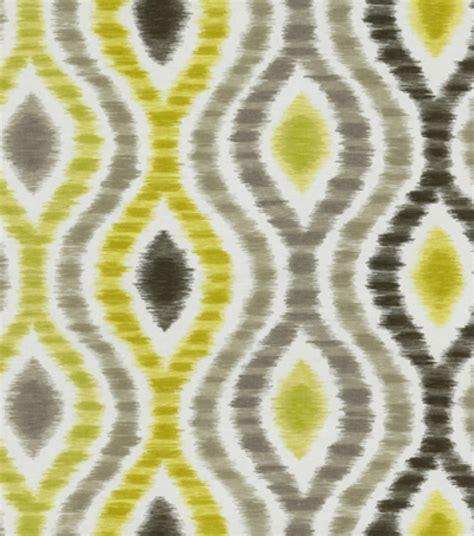 Home Decor Print Fabric Home Decor Print Fabric Waverly Optical Delights Wasabi At Joann