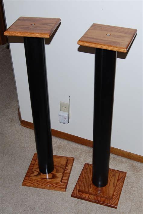 Gold Pedestal Table Speaker Stand 5 Matthew Robertson