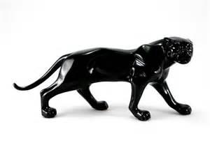 Jaguar Statues Panther In 4 Colours Figurine Tiger Leopard Jaguar