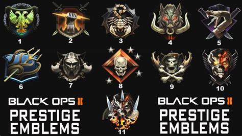 call of duty black ops 2 prestige call of duty black ops 2 prestige emblems prestige