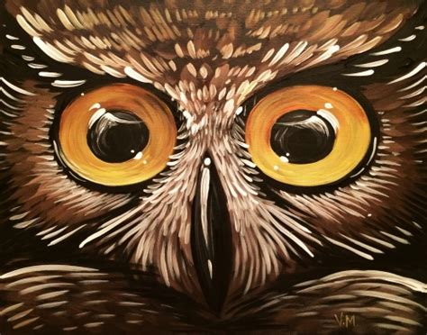 paint nite owl learn to paint ow ow owl