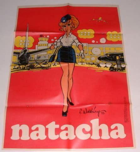 supplement journal les posters natacha en suppl 233 ments du journal spirou
