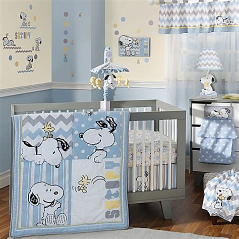 snoopy crib bedding lambs ivy 174 my little snoopy crib bedding collection
