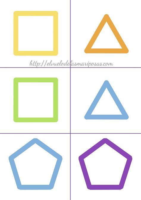 figuras geometricas montessori material imprimible tarjetas de figuras el vuelo de las
