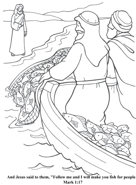 Fishers Of Coloring Page image result for fishers of coloring pages children fisher coloring and
