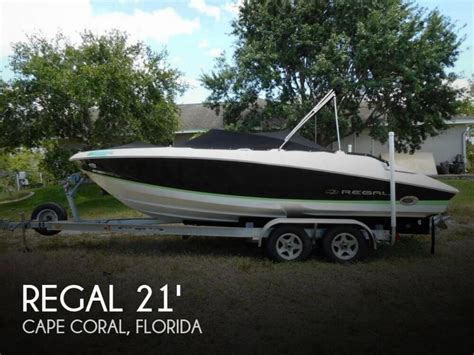 regal boats for sale in florida 1988 regal boats for sale in cape coral florida
