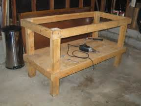 garage workbench designs recumbent conspiracy theorist work bench