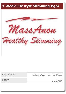3 Month Detox Plan by Order From Massanon Healthy Slimming