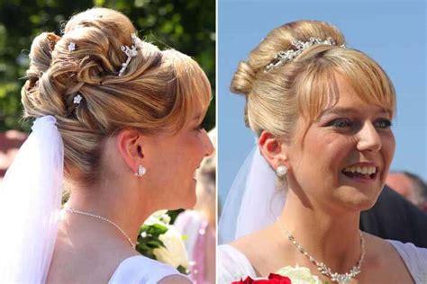 Brautfrisuren Hochgesteckt by Brautfrisuren Hochgesteckt Bildergalerie Hochzeitsportal24