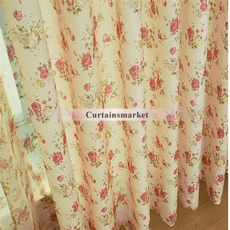 eco friendly curtains country window curtains with flower images for eco friendly