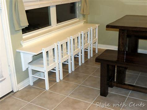Diy Breakfast Bar Table Diy Decorating Ideas Thrifty Thursday 8