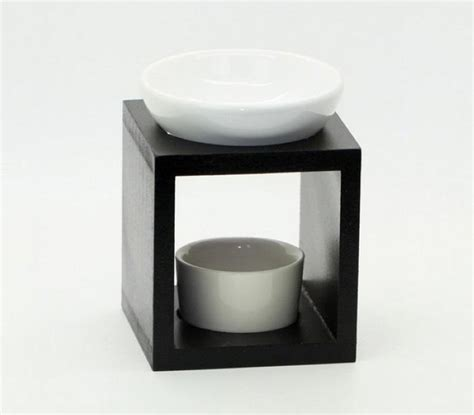 Catalytic Fragrance Ls by Classic Wood Aromatherapy Burner With Ceramic Dish