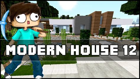 modern house 12 minecraft inspiration youtube minecraft modern house 12 youtube