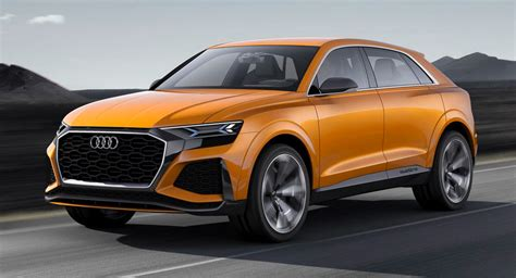 Audi New Models 2020 by Audi S New Q8 To Join Q4 Plus Three New E Trons By 2020