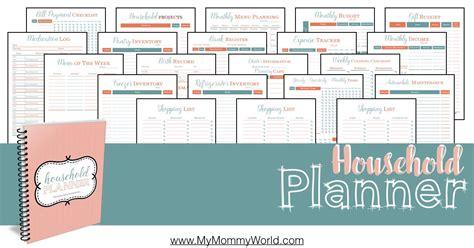 household planner my household planner my world
