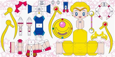 Sailor Moon Papercraft - sailor moon papercraft sailormoon kawaii