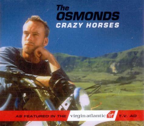 The Osmonds Horses Dvd the osmonds horses uk 5 quot cd single 5611372