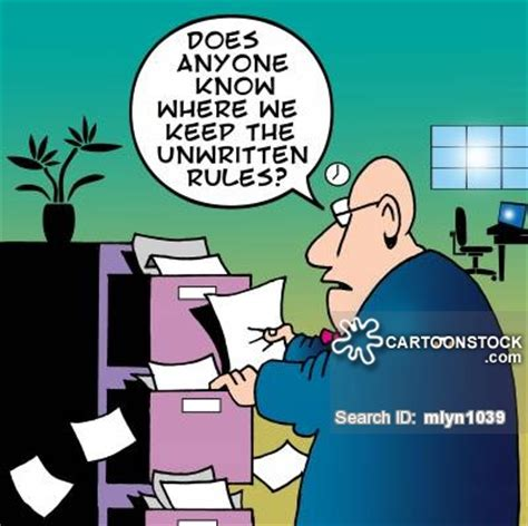 Rules And Regulations Cartoons and Comics   funny pictures