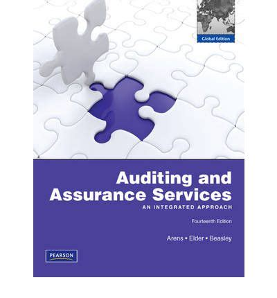 Auditing And Assurance Services auditing and assurance services alvin a arens