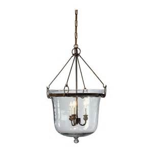 lantern chandelier lighting glass cloche three light chandelier