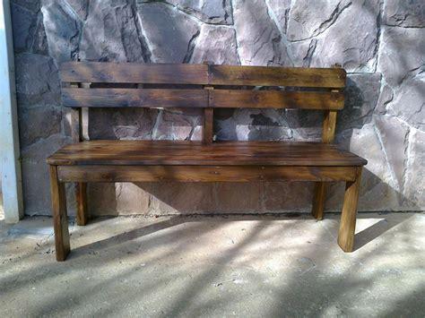 costruire una panchina come costruire una panchina di legno per la veranda idee