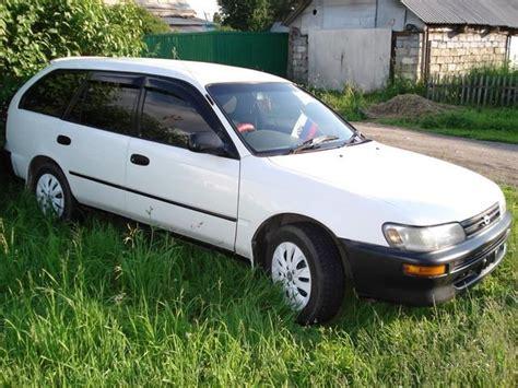 Toyota Corolla Hatchback 1993 1993 Toyota Corolla Wagon Pictures