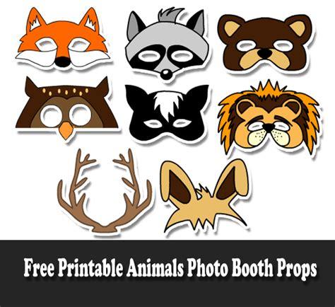 printable animal photo booth props 700 free printable photo booth props