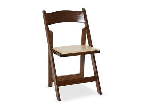 Renting Folding Chairs Fruitwood Padded Folding Chair Cort Rental