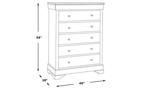 40 Inch Wide White Dresser White Chest Chests Colors